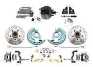 DBK6472LX-GM-714 1964-1972 Chevelle, El-Camino 1967-1969 Camaro & 1968-1974 Nova Disc Brake Conversion Kit