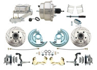 DBK6472LX-GM-311 1964-1972 Chevelle, El-Camino 1967-1969 Camaro & 1968-1974 Nova Disc Brake Conversion Kit