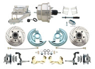 DBK6472LX-GM-313 1964-1972 Chevelle, El-Camino 1967-1969 Camaro & 1968-1974 Nova Disc Brake Conversion Kit