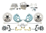 DBK6472LX-GM-315 1964-1972 Chevelle, El-Camino 1967-1969 Camaro & 1968-1974 Nova Disc Brake Conversion Kit