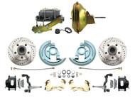 DBK6472LXB-GM-224 1964-1972 Chevelle, El-Camino 1967-1969 Camaro & 1968-1974 Nova Disc Brake Conversion Kit