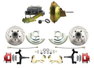 DBK6472DLXR-GM-224 1964-1972 Chevelle, El-Camino 1967-1969 Camaro & 1968-1974 Nova Disc Brake Conversion Kit