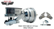 """1964-1972 GM A, F, X Wilwood 8"""" Dual Chrome Booster Conversion Kit"""
