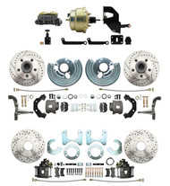 DBK6272834LX-MP-203- Mopar B & E-Body Four Wheel Front & Rear Disc Brake Conversion Kit