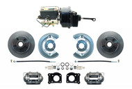 DBK6469-FD-250 - 1964-1966 Mustang Power Disc Brake Conversion Kit