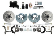DBK6272-MP-110 - 1966-74 Mopar B & E Body Standard Manual Master Front Disc Brake Conversion Kit