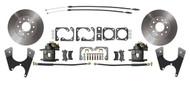 DBK1012S  -  GM F, X Body 10/12 Bolt Pattern Standard Rear Disc Brake Kit with E-Brake Staggered Shocks