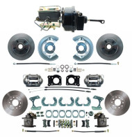 DBK6469-9-FD-250-D - 1964.5-1966 Ford Mustang Front & Rear Power Disc Brake Conversion