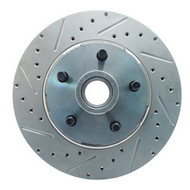 5406LX-  Full Size Ford Mustang Drilled/ Slotted Rotor