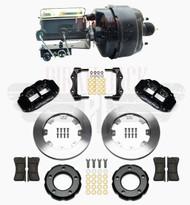 "1982-1986 Jeep CJ Wilwood Disc Brake Kit w/ 8"" Dual Bendix Booster Conversion Kit"