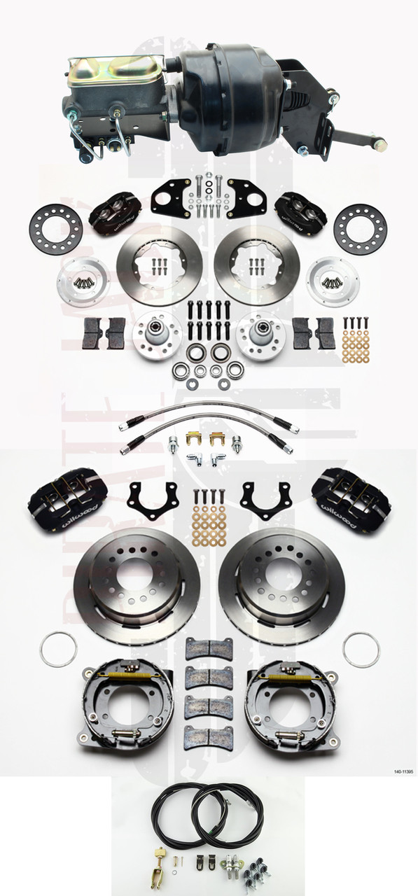 Mopar 1962-74 B & E Body Wilwood Disc Brake Kit w/ 8