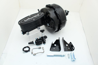 "Camaro & Chevelle 9"" dual Power Brake Booster Kit with Wilwood Master Cylinders"