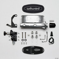 Polished Wilwood Master Cylinder & Adjustable Proportioning Valve Kit  261-13269-P