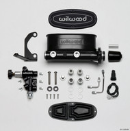 Black E-Coat Wilwood Master Cylinder & Adjustable Proportioning Valve Kit  261-13269-BK