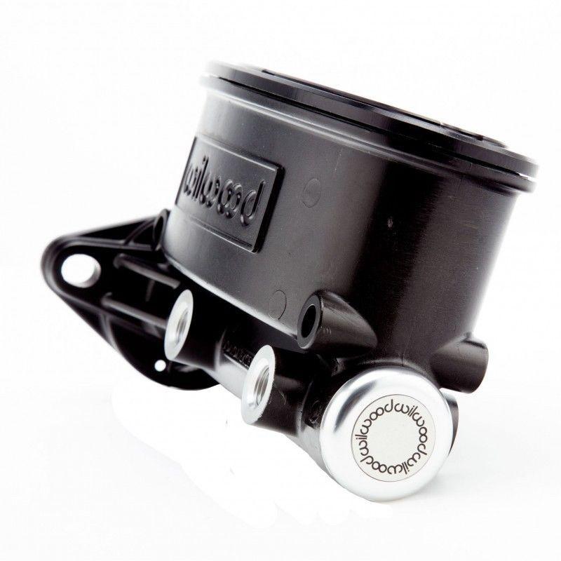 "1/"" Bore Aluminum Black Tandem Oval Master Cylinder"