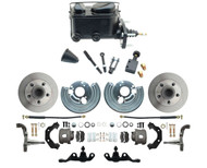 1966-74 Dodge Dart Mopar A-Body  Front Disc Brake Conversion  Kit for 5x4 Bolt Pattern & Manual Brakes
