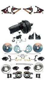 1967-69 Camaro Wilwood Calipers Front & Rear Power Disc