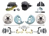 "1964-1972 Oldmobile Disc Brake Conversion Kit 9"" Dual"
