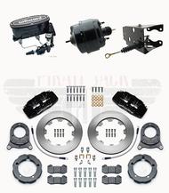 1966-75 Ford Bronco 140-13303  Front Disc Brake Kit & Wilwood Master Cylinder