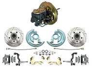 1967-1969 Camaro Disc Brake Conversion w/ Factory Original Style Power Booster