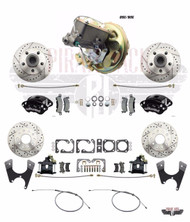 1970-74 Camaro Wilwood Caliper & Rear Disc Conversion Delco Moraine Booster