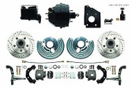 OE Style Mopar 1966-70 B-Body Pwr Disc Brake Conversion Kit Performance Package