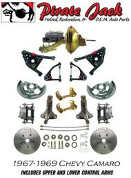 Front Disc Brake Conversion Kit W Tubular Control A Arms & Chrome Power Upgrade