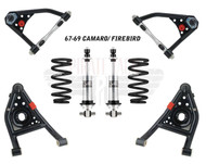1967-69 Camaro / 68-74 Nova Tubular Control Arms & Coil Over Set Suspension Pack