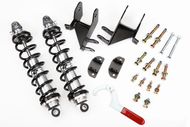 Coil-Over Kit, Buick, Chevy, Olds, Pontiac, Rear, Single Adj. 120 lbs. Springs