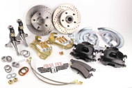 1964-1972 Chevelle, GTO, ElCamino, Camaro 67-69, Premium Disc Brake Kit