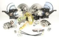 "1967-72 Chevy-GMC Truck C10 Front 2"" Drop 5 Lug Disc Brake Conversion Kit"