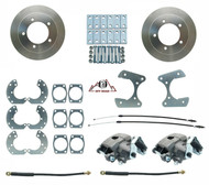 "1966-1978 Ford Bronco Rear Disc Brake Kit 9"" Rear Ends Only 5x5.5 Bolt Pattern"