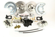 1964-1969 Ford Comet Disc Brake Kit & Power Brake Booster Conversion w/ Valve