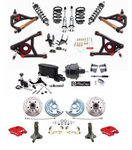 1964-72 Chevy Chevelle, GTO, Skylark, Lemans, 442 Performance Deluxe Disc Brake Conversion Kit with suspension package.