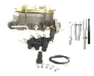 Universal Master Cylinder Kit w/ Universal Manual Rod Kit & Adjust Knob Valve