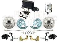 1964-1972 GM A, F, X Wilwood Caliper Manual Master Cylinder Kit & Adjustable Valve