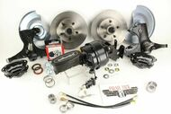 1967-72 Chevy C10 Truck Wilwood Disc Brake Kit & Aldan American Coil Overs Control Arms