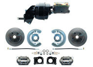 1966-73 Ford Fairlane Power Disc Brake Conversion Kit & Proportioning Valve Kit