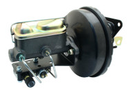 """1967-70 Ford Mustang 9"""" Power Brake Booster Conversion w/ Master & Adjustable Valve"""