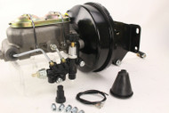 "Jeep CJ7 & CJ5 9"" Power Brake Booster Master Cylinder Adjustable Proportioning Valve"