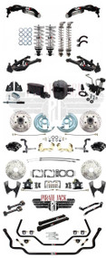 1964-1972 Chevelle/ A Body QA1 Stage 2 Suspension & Wilwood Component Disc Brake Kit