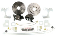 1978-88 G Body Camaro, S-10 10 Bolt Rear Disc Brake Conversion Kit Drilled Rotor