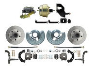Mopar B & E-Body Complete Stock Height Disc Brake Kit