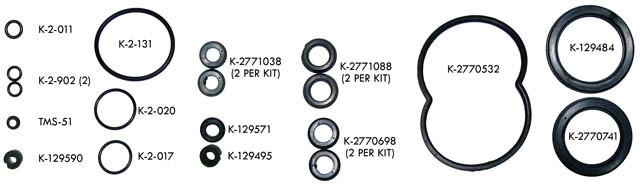 Kit 50 (2771004X) Hydro-Boost Repair Kit- UNIVERSAL RUBBER SEAL KIT ONLY-  GM, FORD, MOPAR