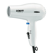 Conair 247W 1875 Watt Hair Dryer, White