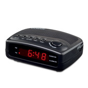 Conair WCR02 Compact Hotel Clock Radio with Single Day Alarm