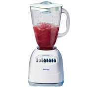 Oster 6640 6-Cup Blender with Plastic Jar, 10 Speed, 450W Motor, White