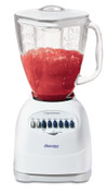 Oster 6642 5-Cup Blender with Glass Jar, 12 Speed, 450W Motor, White