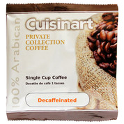 Cuisinart Private Collection Coffee 1-cup Pod Decaf, Case of 200