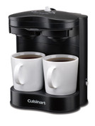 Cuisinart 2‐Cup Hotel Pod Coffee Maker, Black